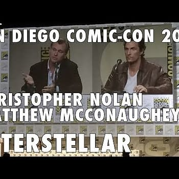[VIDEO] Christopher Nolan Talks Interstellar At San Diego Comic Con