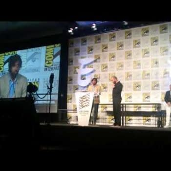 Look What The Hugo's Could Have Won! Jonathan Ross At The Eisners