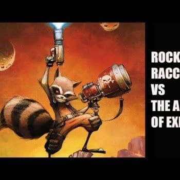 A Comic Show – Rocket Raccoon's The Star! Star Lord's A Close Second