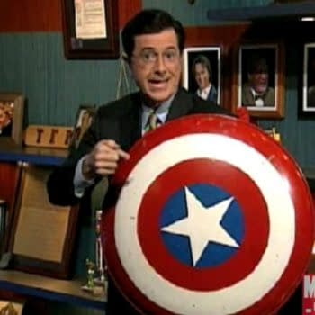 New Marvel Title To Be Announced On Tonight's Colbert Report. I Think It's Captain America, With Sam Wilson In The Lead