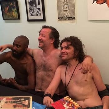 When Things Got Naked At Locust Moon Comics Signing On Friday