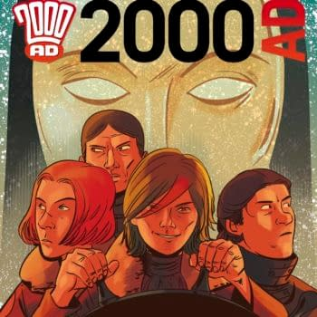 Preview This Week's 2000AD – Judge Dredd, Brass Sun, Tharg's 3Rillers, Grey Area