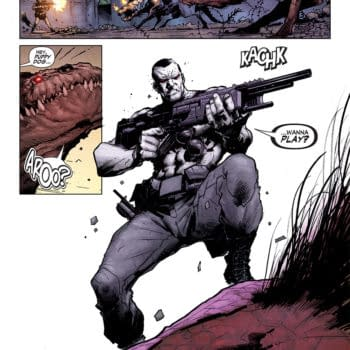Double Shot Previews From Valiant – Armor Hunters: Bloodshot And Archer & Armstrong