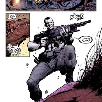Double Shot Previews From Valiant &#8211 Armor Hunters: Bloodshot And Archer &#038 Armstrong
