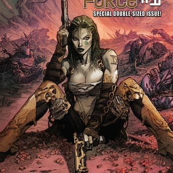 Double Shot Preview From Top Cow – Wildfire #2 And Aphrodite IX / Cyberforce #1