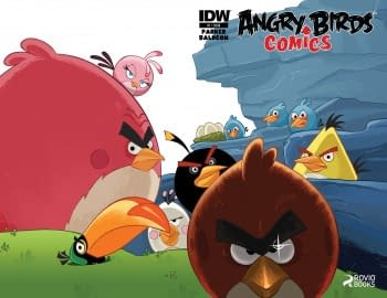The Best SDCC Announcement In The History Of History  Angry Birds/Transformers Crossover From IDW
