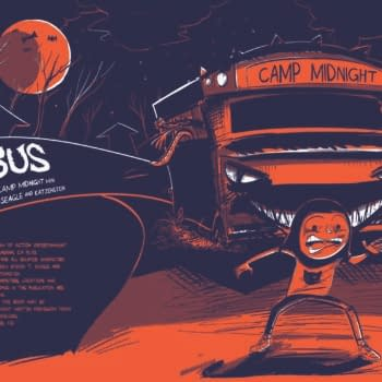 Man Of Action Announces Their First-Ever Con Exclusive For San Diego Comic Con – The Bus: A Camp Midnight Mini