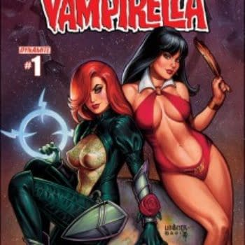 """""""I Got Caught Up In The Spirit Of How Fun It Would Be To Draw"""" – Joseph Michael Linsner Talks Dawn/Vampirella"""