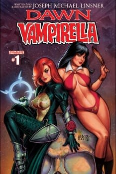 I Got Caught Up In The Spirit Of How Fun It Would Be To Draw &#8211 Joseph Michael Linsner Talks Dawn/Vampirella