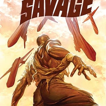 Free On Bleeding Cool &#8211 Doc Savage #6 By Chris Roberson And Bilquis Evely