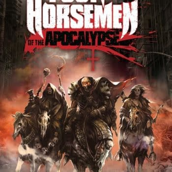 The Four Horsemen Of The Apocalypse Finally Arrive, Battle For Hell And Earth Debuting From Titan At San Diego Comic Con