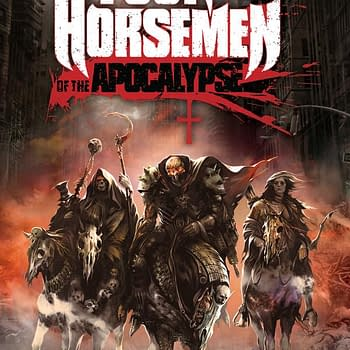 The Four Horsemen Of The Apocalypse Finally Arrive Battle For Hell And Earth Debuting From Titan At San Diego Comic Con