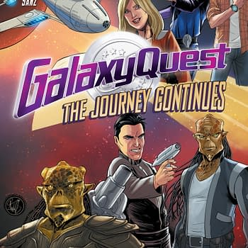 IDW Rocks Comic Con With Galaxy Quest, Edward Scissorhands And More