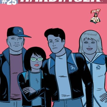 Gilbert Hernandez Covers Harbinger #25 For CBLDF As An SDCC Exclusive
