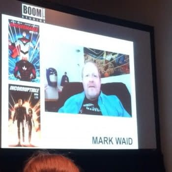 Paul Levitz Pops By The Boom Panel At San Diego Comic Con