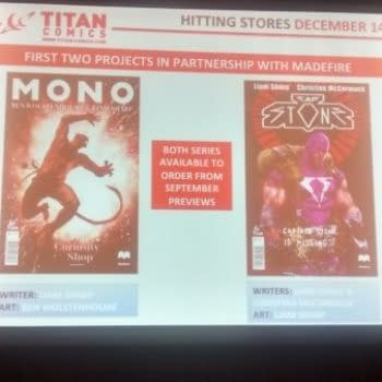 Titan Comics Announces A Partnership With Madefire for Mono And Cap Stone In September