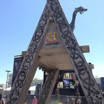 On The Set With Vikings Experience At San Diego Comic Con Is Immersive Has A Comic