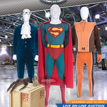 Superman III Suit Goes Up For Auction