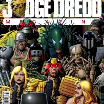 Preview The 350th Issue Of Judge Dredd Megazine And This Week's 2000AD