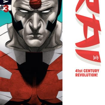 Double Shot Previews – Armor Hunters #2 And Rai #2 From Valiant
