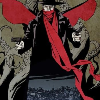 Ron Marz Takes The Shadow Into The World Of H.P. Lovecraft