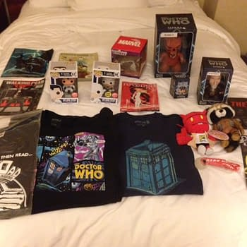 Swag San Diego Comic Con Edition Day 1