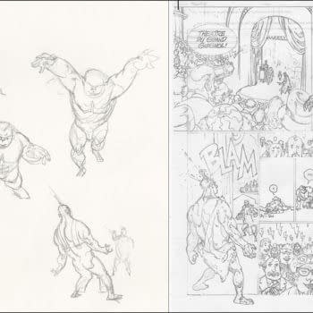 Wouldn't You Want A Massive Archive Of P. Craig Russell's Sketches?