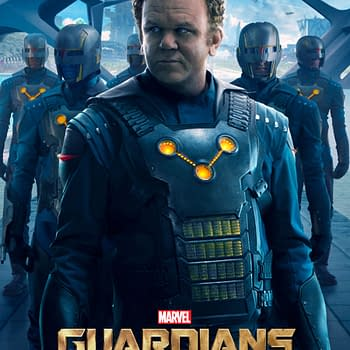 New Guardians Of The Galaxy Posters Focus On Yondu And The Nova Corps