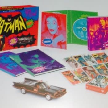 This Is What The Batman 60s TV Show Blu-Ray Box Set Will Look Like. And Yes, It Comes With A Batmobile.
