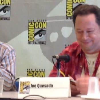 When Paul Levitz Sat Next To Joe Quesada At San Diego Comic Con