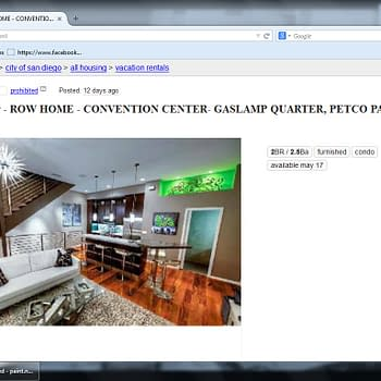 SDCC Scam Alert (Yes Already) &#8211 Ripped Off For Housing On Craigslist