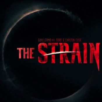Live From The Strain Panel In Hall H At San Diego Comic Con – Peeling Del Toro's Banana