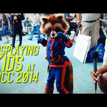 Kids Cosplay At San Diego Comic Con 2014 &#8211 Including The Sweetest Rocket Raccoon Ever (VIDEO)