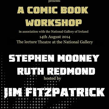 The First Celebration Of Comics At The National Gallery In Ireland With Forbidden Planet Dublin