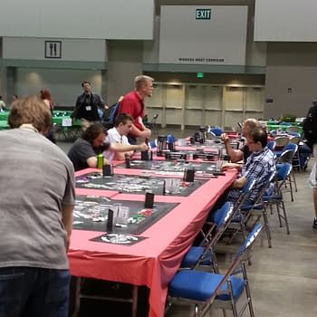 Bleeding Gen Con Day One – Tales Of Exhaustion And Games Gathered