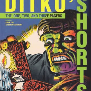 IDW And Yoe Books Bring Us Steve Ditko's Shorts