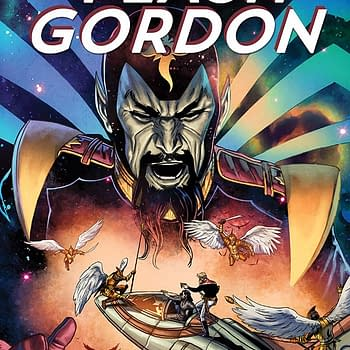 Cover Process &#8211 Marc Laming On Flash Gordon #5