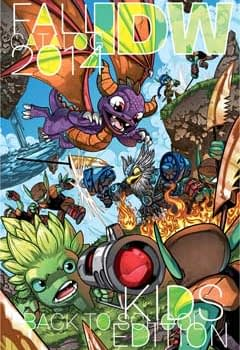 IDWs Sampler For Kids This Autumn &#8211 While Rocket And Figment Get More Printings