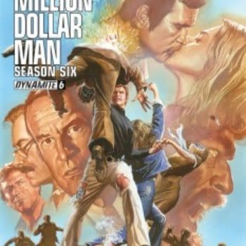 """""""I Had A Chance With This Comic Series To Present The Stories The Way I Remember Them"""" – James Kuhoric Talks Six Million Dollar Man"""