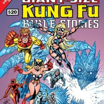 Giant-Sized Kung Fu Bible Stories Knocks Aside Rocket Raccoon On Its Way To The Top Of Advance Reorder Chart