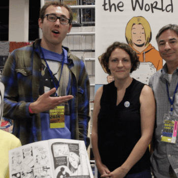 Meeting Liz Plourde And Randy Michaels Of How I Made The World At Boston Comic-Con