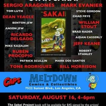 Things To Do In Los Angeles Saturday If You Like Comics And Stan Sakai
