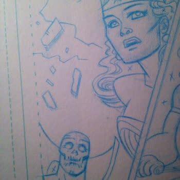 Dean Haspiel Finally Draws Wonder Woman (And Deadman, And Ra's Al Ghul) For Sensation Comics, Plus Sketches