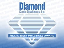 Diamond Give Best Practice Awards For Print Ads Fundraising. Previews Displays And Best Graphic Novel And Manga Sections