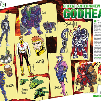 Pete Woods Sketches Some New New Gods For Godhead