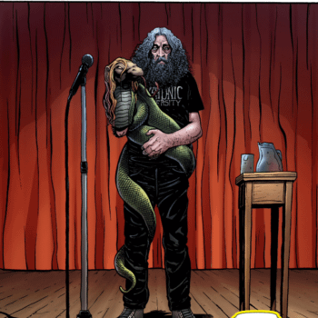 This Is Glycon Ground Zero – When Alan Moore Makes Himself As Fictional As The God He Worships