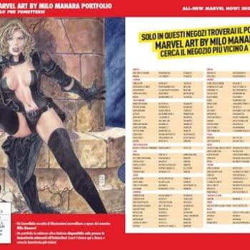Italy To Publish Portfolio Of Milo Manara's Marvel Work
