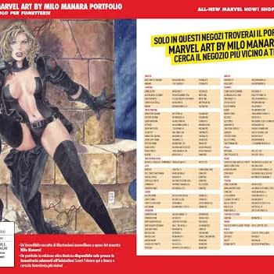 Italy To Publish Portfolio Of Milo Manaras Marvel Work