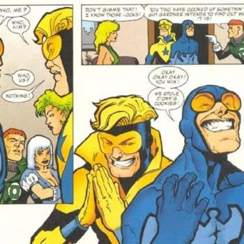 The Pre-52 Blue Beetle And Booster Gold To Appear In Justice League 3000