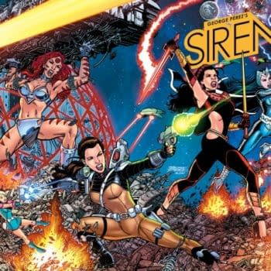 George Pérez's Sirens Is Boom's Biggest Original Comics Launch To Date